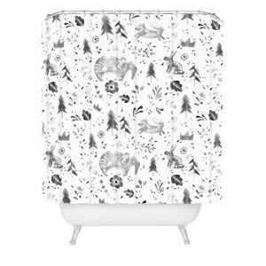 wonder-forest-folky-forest-shower-curtain-claw-tub