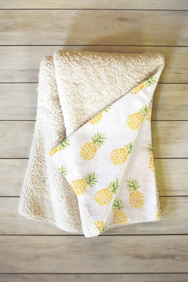 Pineapple Express Fleece Throw Blanket Wonder Forest Store Adorable Forest Green Throw Blanket