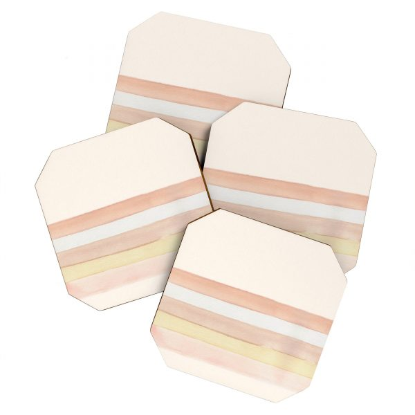 She Said Stripes Coaster Set