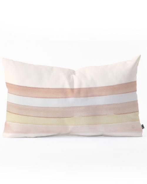 She Said Stripes Oblong Pillow