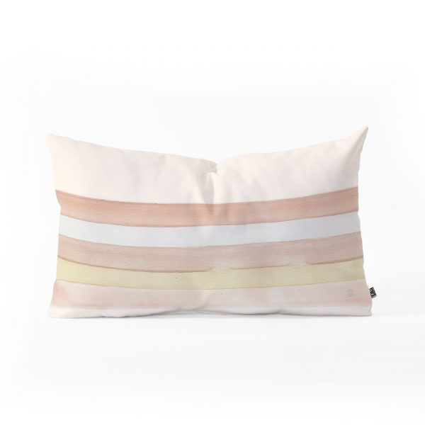 She Said Stripes Oblong Pillow