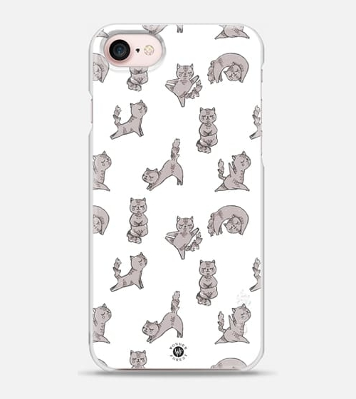Yoga Cats Case by Wonder Forest