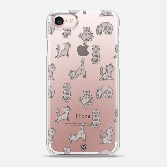 Yoga Cats Clear Case