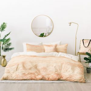 Diamond Watercolor Grid Bed In A Bag by Wonder Forest