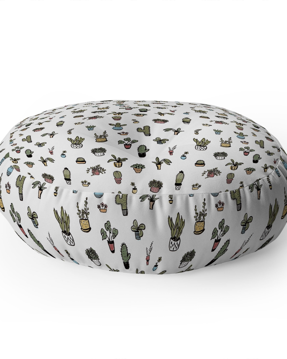 Plant Lady Floor Pillow by Wonder Fores