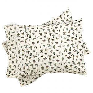Plant Lady Pillow Sham by Wonder Forest