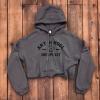 Art School Dropout Cropped Hoodie