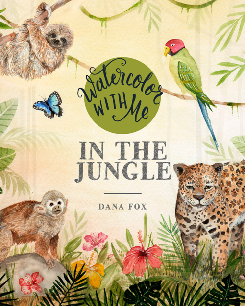 Watercolor With Me: In The Jungle