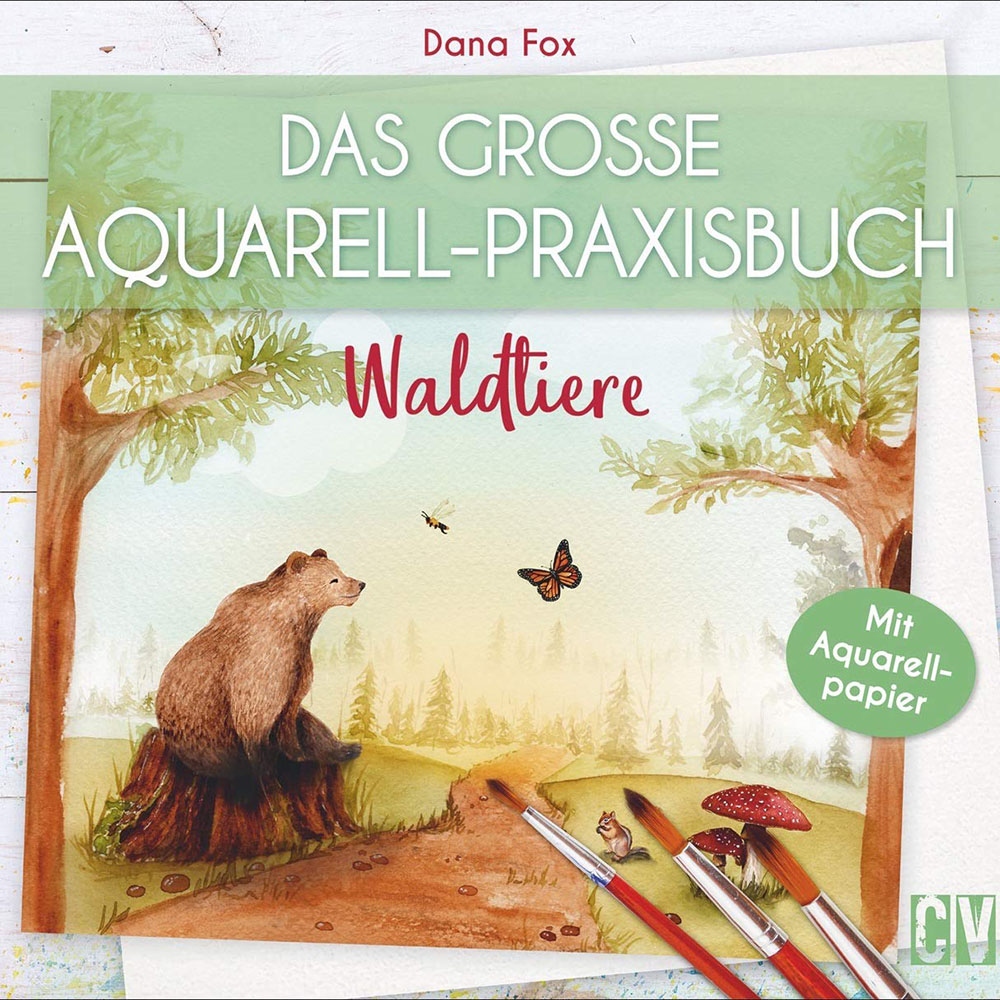 Watercolor With Me: In The Forest German Edition