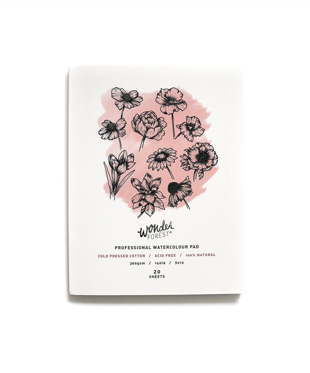 watercolour pad